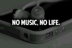 I can't think of my life without music! ♥