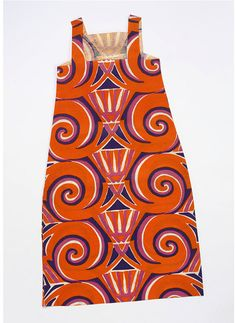 Paper dress ca. 1967 via The Victoria & Albert Museum