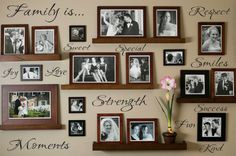 Hey, I found this really awesome Etsy listing at https://www.etsy.com/listing/183848004/family-wall-decal-wall-vinyls-decals-art