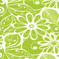 choice 4 of living room drape material.  Goodison Panorama Meadow Green Floral Drapery Fabric by Swavelle Mill Creek Swatch