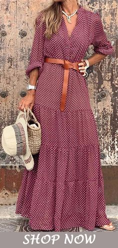 - Women maxi dress 2020 Bohemian Style V-Neck Maxi Dress - maxi dress maxi dress ideas women maxi dress maxi dress for women Bohemian Style V-Neck Maxi Dress EDC Vegass or held th Boho Fashion, Fashion Dresses, Maxi Dress Outfits, Summer Maxi Dress Outfit, Red Boho Dress, Style Fashion, Mode Outfits, Edgy Outfits, Bohemian Style