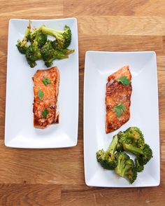 Maple Glazed Salmon Dinner in 15 Minutes or Less