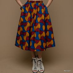 shweshwe midi skirt. Traditional Wedding, Midi Skirt, Summer Dresses, Skirts, Fashion, Summer Sundresses, Moda, Sundresses, Fashion Styles