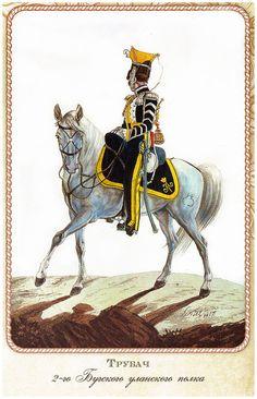 Трубач 2-го Бугского уланского полка