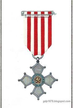La Guerra del Pacífico 1879 - 1884 ( Perú, Bolivia y Chile): Medalla batalla de Huamachuco