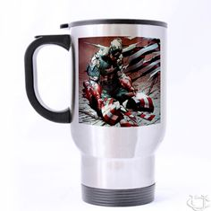 Sell Captain America Avanger Broken Shield Travel Mug