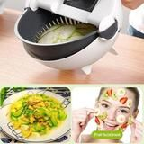 The Magic Rotate Vegetable Cutter comes with a unique drainage feature that allows you to clean vegetables directly through the drainage system after you've cut them. Recipe For Split Peas, How To Wash Vegetables, Vegetable Slicer, Kitchen Helper, Potato Chips, Coleslaw, Food Grade, Feel Better, Yummy Food