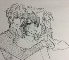 yukarikoume rien a dire, juste que Kirishima fait un peu chié yokozawa mais a part, sa il son juste trop KAWAII!!