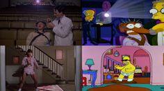 Todos los tributos al cine que Los Simpson han hecho en un solo video... BRUTAL !!!