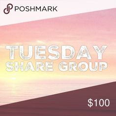 "1/24 Tuesday Share Group Sign up closes at 2pm est💞Tag your name to sign up💞Write ""new"" if you are new💞Share 10 available items from each person who signs up💞 Sharing begins at 8am est. Please share  by midnight your time💞Share to your followers, not to parties💞Be Posh compliant or you may be skipped💞Mark your spot with ***and first 3 letters of where you left off💞Sign out when finished💞 If you sign up to freeload shares, you will be blocked💞Please only ask questions in the Q&A…"