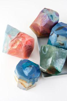 DIY soap rocks
