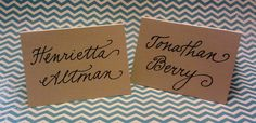 <3 Fancy Script - calligrapy by carrie
