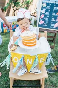 Ice Cream Truck 1st Birthday.