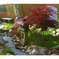 small Japanese garden vignette