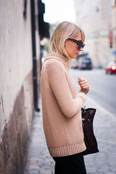 Classic neutral sweater