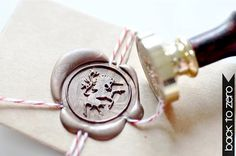 Unicorn Mythical Creature Gold Plated Wax Seal Stamp x 1 on Etsy, $20.00