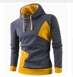 Gender: Men Item Type: Hoodies,Sweatshirts Material: Polyester,Cotton Ships within business days - 15 or more to receive La Mode Masculine, Yellow Hoodie, Future Clothes, Winter Mode, Hoodie Sweatshirts, Hoody, Suit Fashion, Mens Clothing Styles, Boy Outfits
