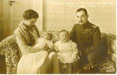 Herzog u.Herzogin zu Braunschweig mit den beiden Prinzen