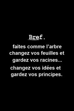 Humor & quotes QUOTATION - Image : As the quote says - Description Faire l'arbre Words Quotes, Life Quotes, Sayings, Humor Quotes, Positiv Quotes, French Quotes, Think, Moral, Some Words