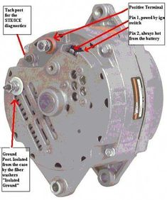 GM 3 wire alternator idiot light hook up - Hot Rod Forum ...