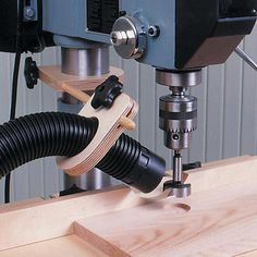 Drill Press Dust Collector Woodworking Plan from W… Drill Press Dust Collector Plan from WOOD Magazine The post Drill Press Dust Collector Plan from W… appeared first on Pinova - Woodworking Popular Woodworking, Woodworking Furniture, Fine Woodworking, Woodworking Crafts, Woodworking Workbench, Woodworking Techniques, Woodworking Store, Woodworking Tutorials, Workbench Plans