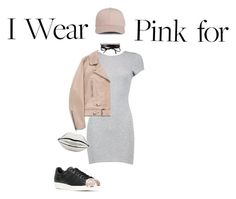 """""""IWPF"""" by del-diablo ❤ liked on Polyvore featuring Boohoo, Acne Studios, adidas, Fallon and Lulu Guinness"""