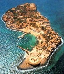 Ile de Goreé, Senegal, where the captives suffered so much before being exported into slavery.