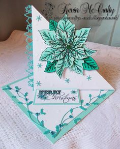 McCrafty's Cards: Twisted Poinsettia