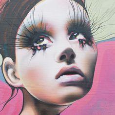 The Art of Lani Imre - Contemporary Female Figurative Art Canadian Artists, Figurative Art, Urban Art, Female Characters, Contemporary Art, Street Art, Halloween Face Makeup, Faces, Fine Art
