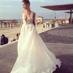 @sivanbendavid_hautecouture I'm obsessed with your gowns!! #WeddingDress #Bride #WeddingInspo #Wedding #Love #Bridesmaids #Glam #TheDreamDayCo  #Creative #Beautiful #Inspiring  Image Source: @sivanbendavid_hautecouture x