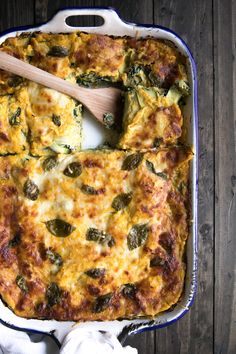 Butternut Squash, Spinach and Zucchini Lasagna (+ a video!) One of my most popular recipes, this delicious vegetarian recipe rich, creamy and loved by even the pickiest of eaters!