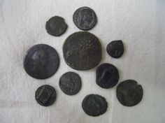 (10pc) Mixed Lot: Greek & Roman Coins
