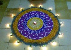 Some #Rangoli Design #Just4You