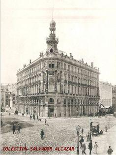 El Madrid de Hauser y Menet.La Equitativa. 1891 | Flickr: Intercambio de fotos