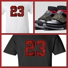 """EXCLUSIVE TEE SHIRT TO MATCH AIR JORDAN XX STEALTH OR ANY LASERS! """"23 RED LASER"""" #COPEMCUSTOMS #GraphicTee"""