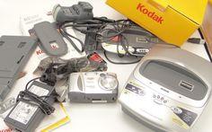 Kodak EasyShare CX4230 Digital Camera Docking Station 2.0MP Tested Works