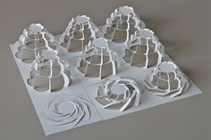 RES Octagon Towers by Prof. YM, via Flickr. Made with CraftRobo