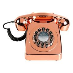 The 746 is a quintessential British retro telephone and '60s style icon. Launched in 1967 by the General Post Office in response to public demand, it would inspire two decades of conversation and is, to this day, recognised as the universal symbol of the phone.  In celebration of this Great British icon, this contemporary model maintains the bold curves of the original design in a striking range of colors. For modern convenience, the dial has been replaced by push buttons without detracti...