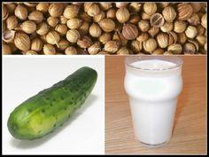 Frullato con latte di riso e cetrioli contro la cellulite