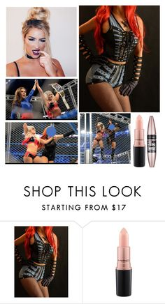 """""""💅🏾Calista Jade💅🏾 Mickie James?!"""" by thekaylabella ❤ liked on Polyvore featuring MAC Cosmetics and Maybelline"""
