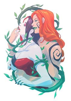 Love is love- Poison Ivy and Harley