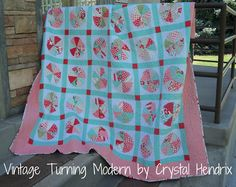 Vintage Turning Modern Quilt « Moda Bake Shop