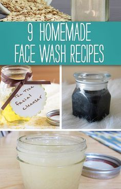9 Homemade Face Wash Recipes