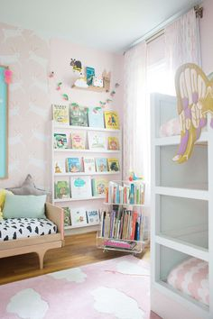 a shared bedroom with bunk beds