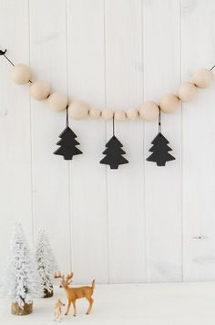 Fun holiday garland