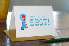 you're the best! // TabletopMade