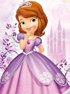 My baby sister's favorite show😍😍💕🎶👑👗 Princess Sofia Party, Princess Sofia The First, Baby Princess, Disney Princess Crafts, Little Disney Princess, Disney Junior, Sofia The First Characters, Princesa Sophia, Mickey Mouse Parties