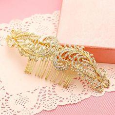 Gold-Crystal-Hair-Comb-Wedding-Accessories-Rhinestone-Bridal-Headdress-1-Piece