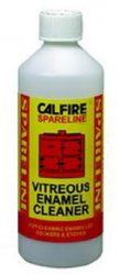 Calfire Enamel Cleaner - 500ml  http://www.woodburningstovesandflues.co.uk/stove-accessories-stove-cleaning-stove-gloves-c-160_165/enamel-cleaner-500ml-p-788