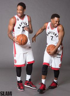 0275675a759 Raptor teammates DeMar Rozan  amp  Kyle Lowry  BasketballGamesOnline  Basketball Workouts